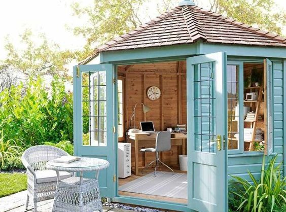 charming backyard office