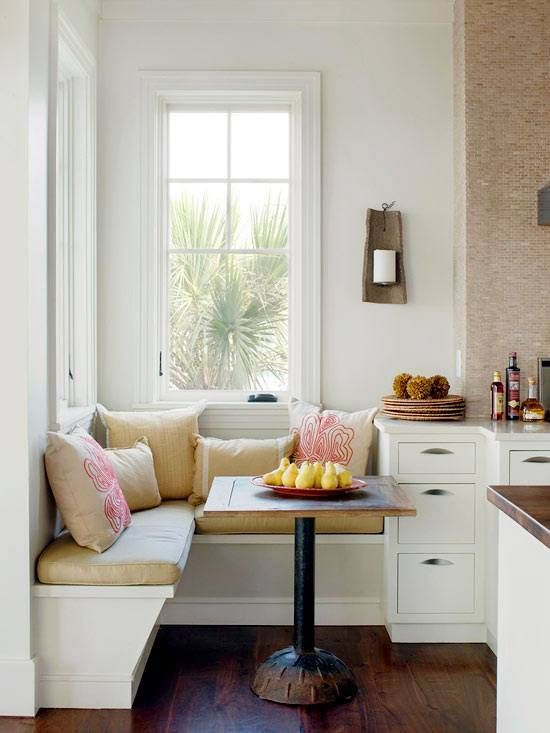 cosy breakfast nook