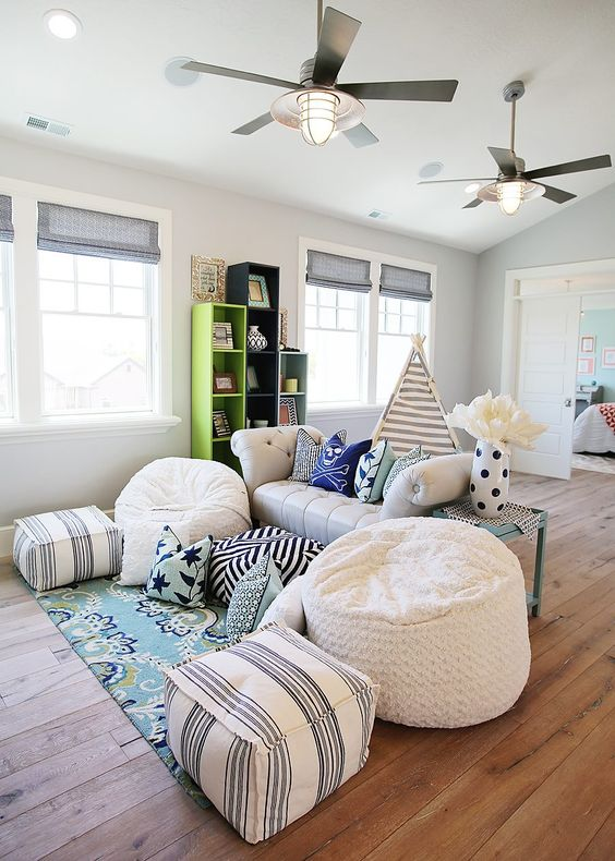 pillow family room