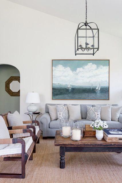 vintage coastal family room