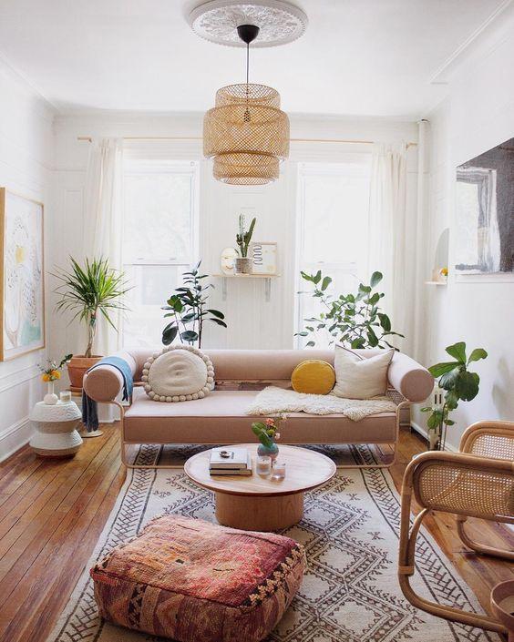 moroccan designed family room