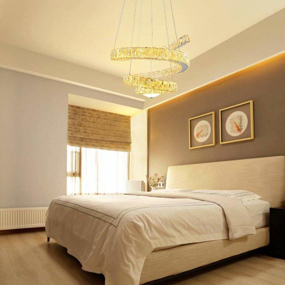 golden spiral chandelier