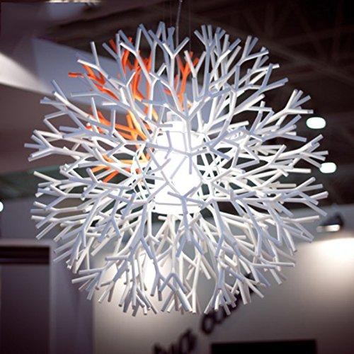 white twig chandelier
