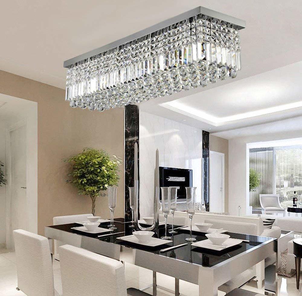 classy rectangula chandelier