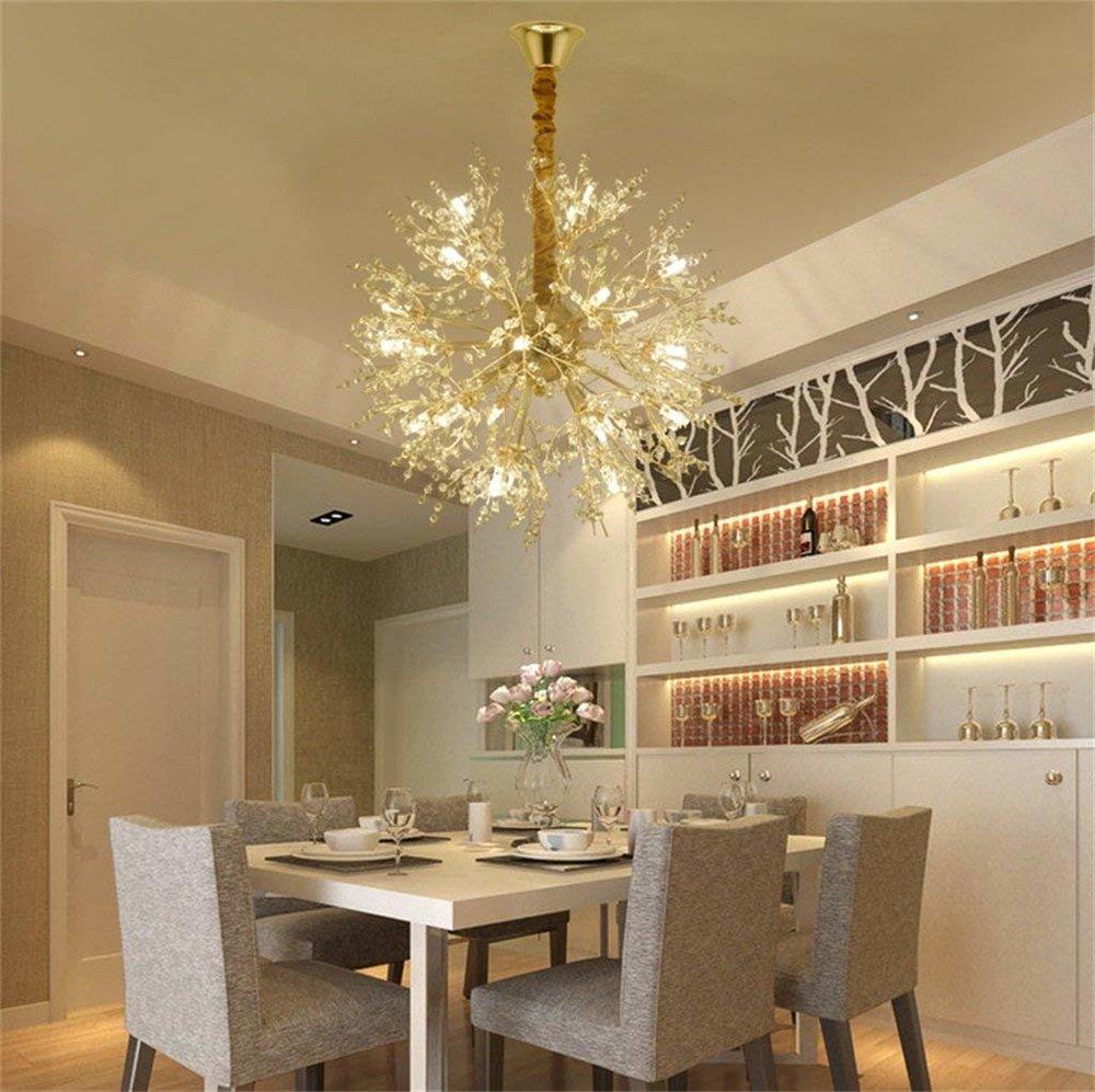 delicate round chandelier