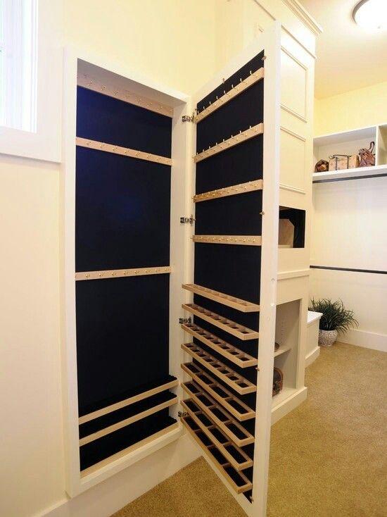 wall jewellery storage