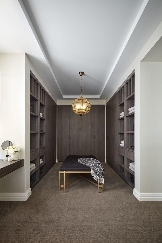 open door bedroom closet