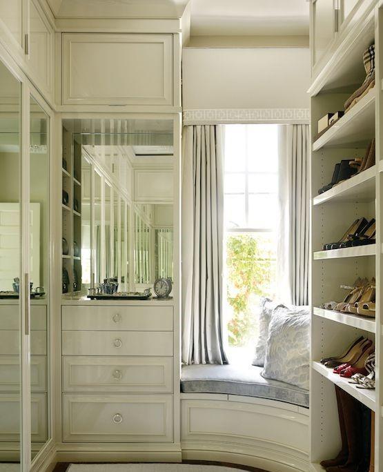 charming bedroom closet