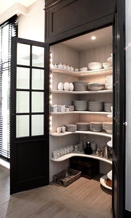 classic kitchen pantry