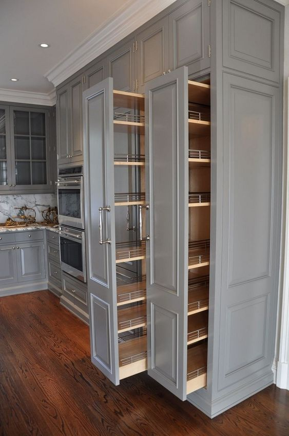 kitchen pullout cabinets