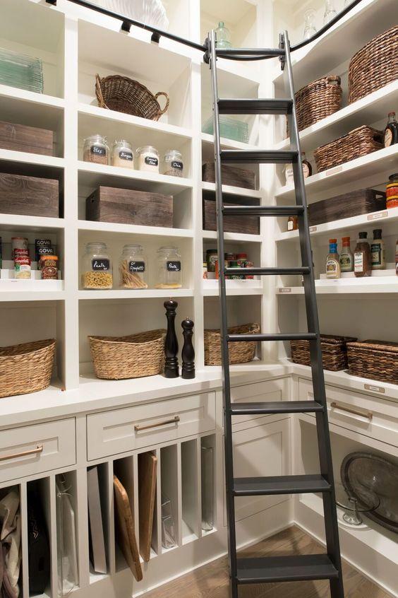 kitchen pantry ladder