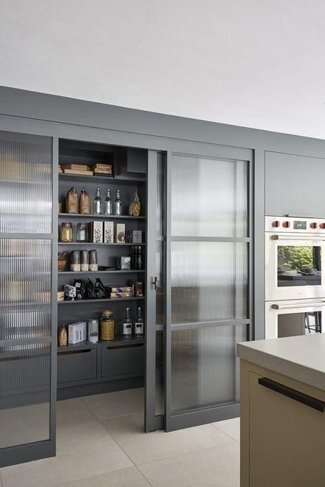 modern minimalist pantry
