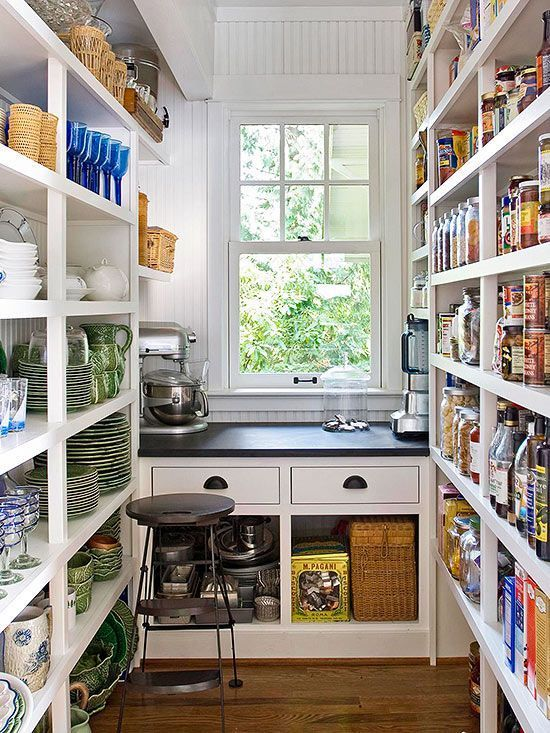 complete kitchen pantry