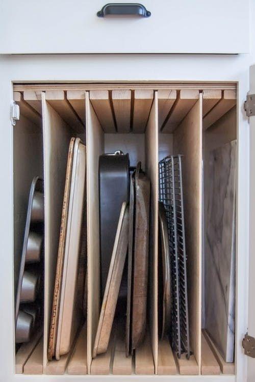 vertical pan cabinet