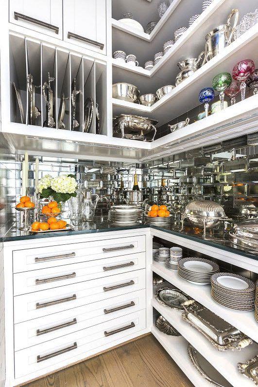 luxurious elegant pantry