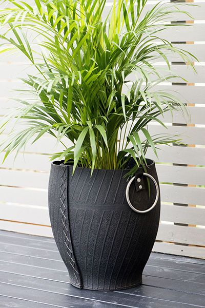recycled tire planter