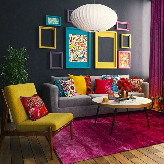 35 Colourful Living Room Ideas and Modern Designs ...
