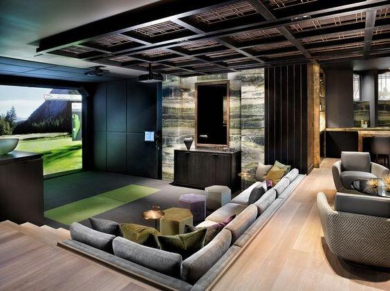 30 Modern Media Room Ideas And Designs Renoguide Australian Renovation Ideas And Inspiration
