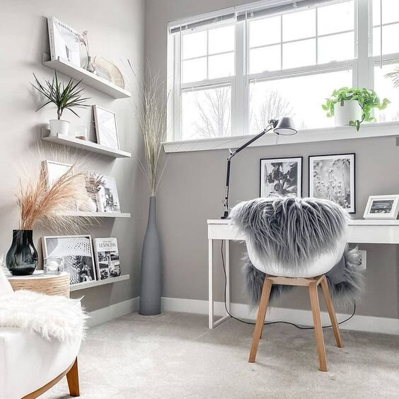 Home Office Decor Ideas For Her from static1.squarespace.com