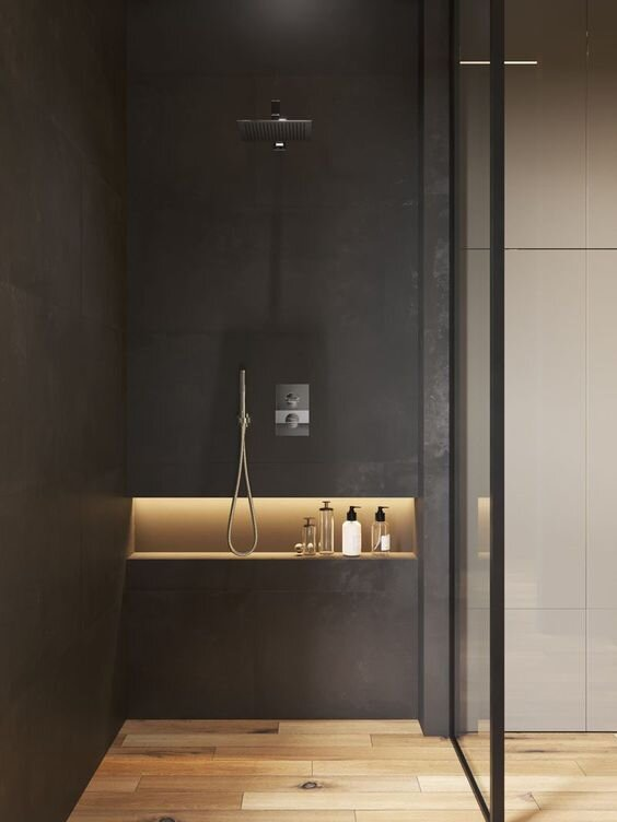 30 Modern Bathroom Shower Ideas And Designs Renoguide Australian Renovation Inspiration