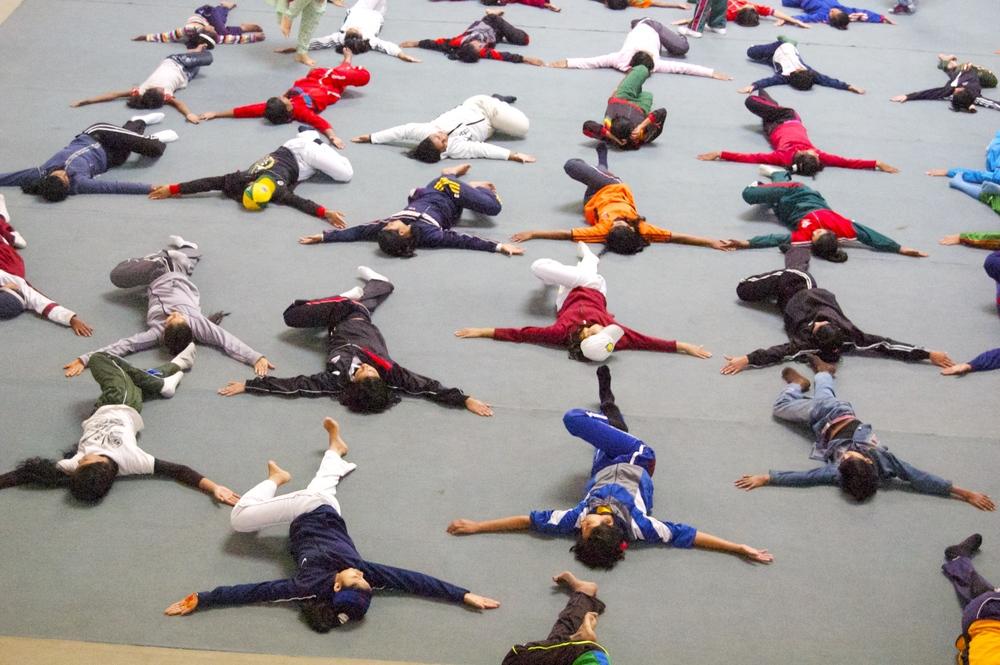 More yoga at BKSP