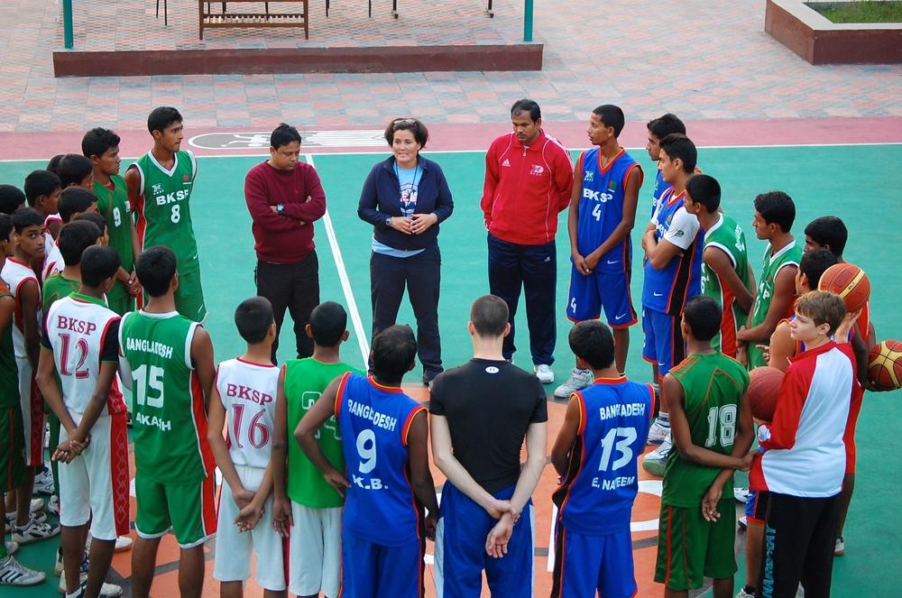 Coaching at BKSP
