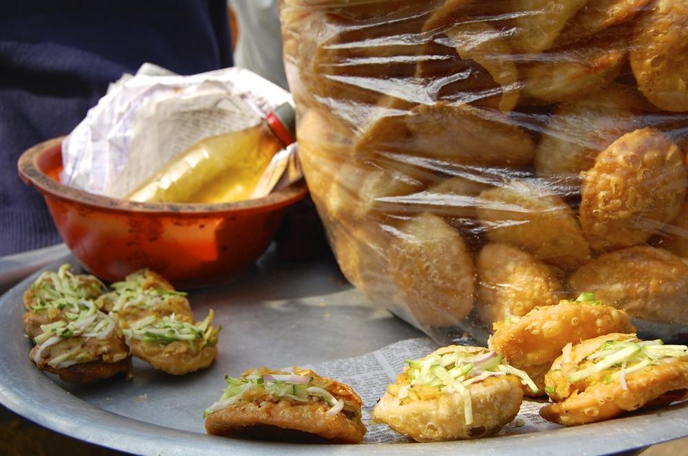 Fuska-street food in Bangladesh
