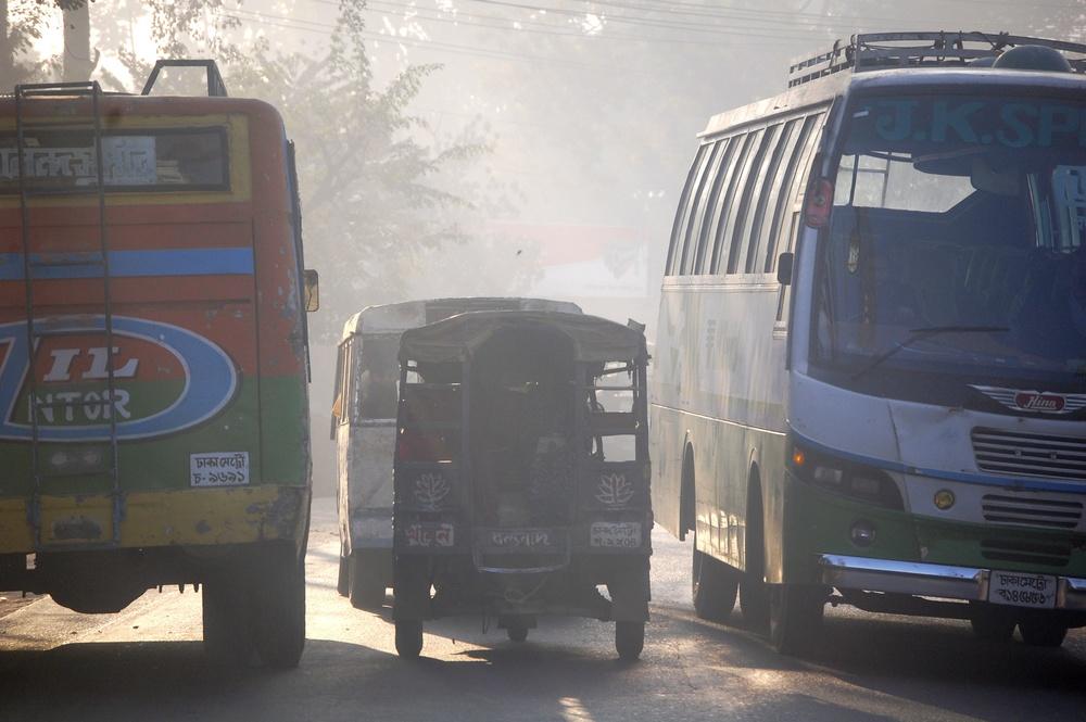 Traffic in Bangladesh
