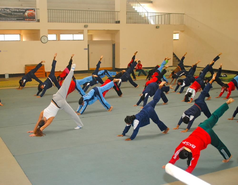 Yoga at BKSP