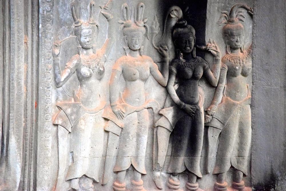 Angor Wat walls