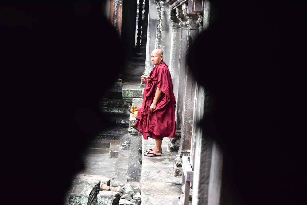 Monks at Angor Wat