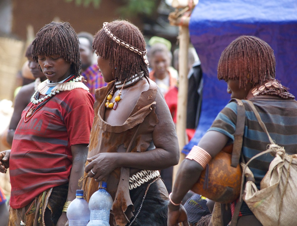 Women in the Omo Valley