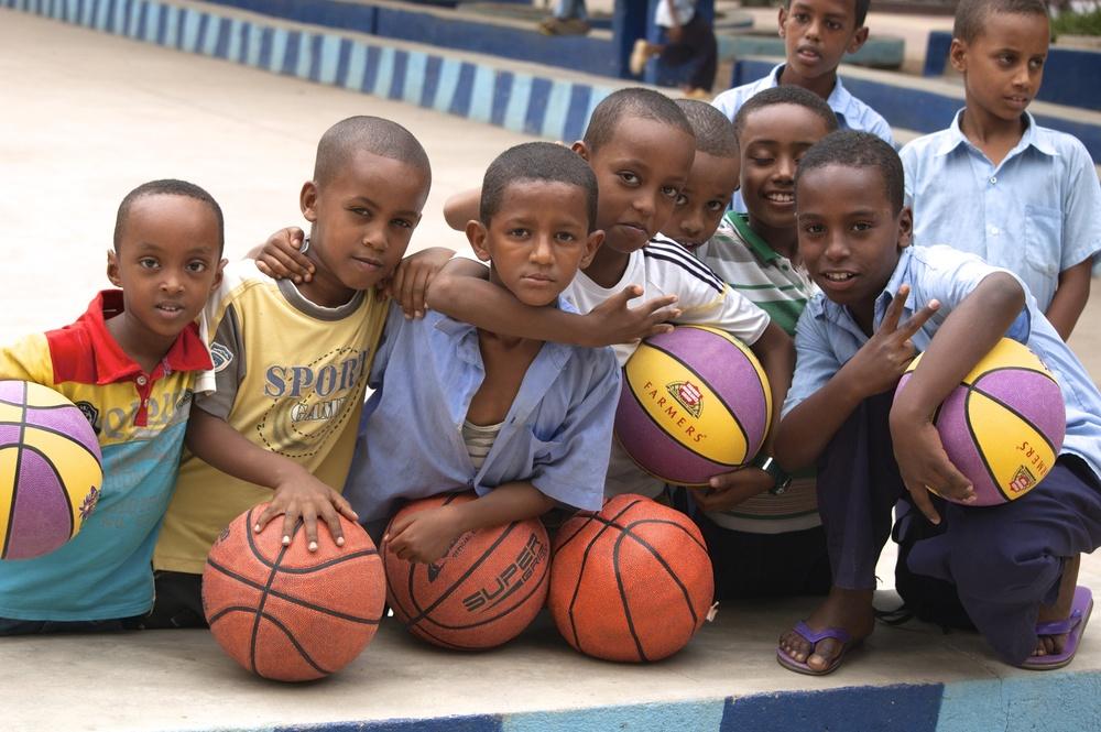 Basketball posse