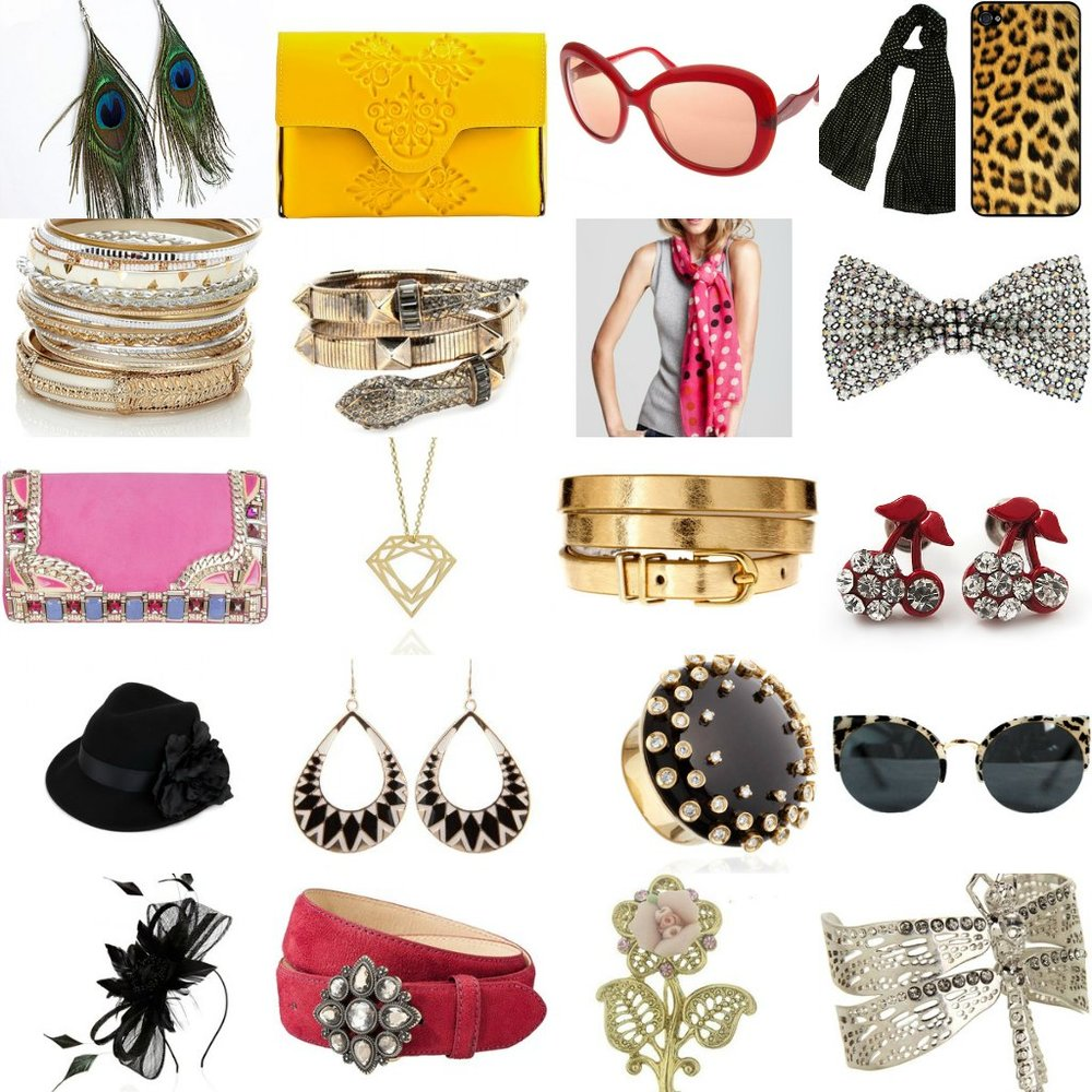Women's accessories come in many different shapes, price points sizes, styles, and types. Pairing them with different outfits can make a look more formal, more casual, bolder, or more subdued.