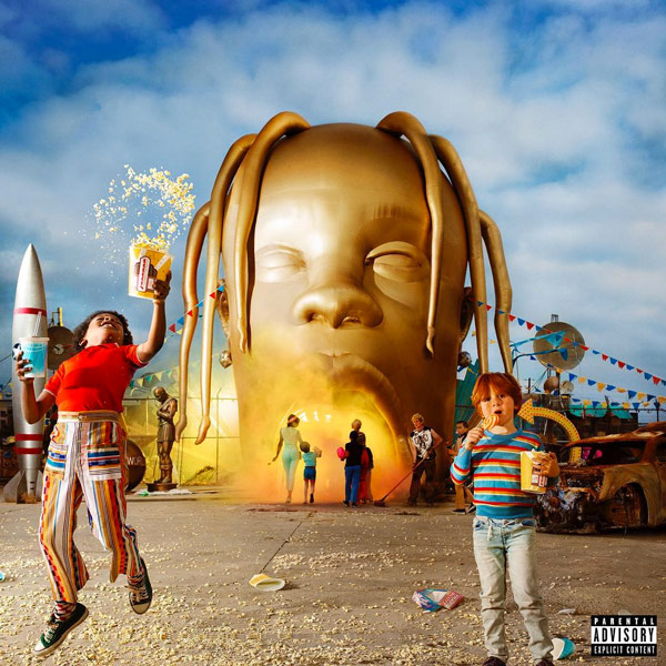 Travis Scott AstroWorld - Travis Scott has been behind the sounds of many artists over last five years, and he is back to give the world another journey into his himself, this time being labeled Astroworld. This 17-track project has features ranging from Drake to Stevie Wonder, so its sure to be an other-worldly ride for his fans.