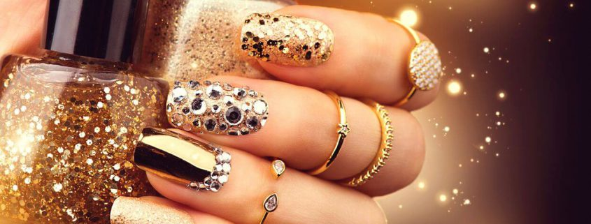 Nail Jewelry is all the rage these days!