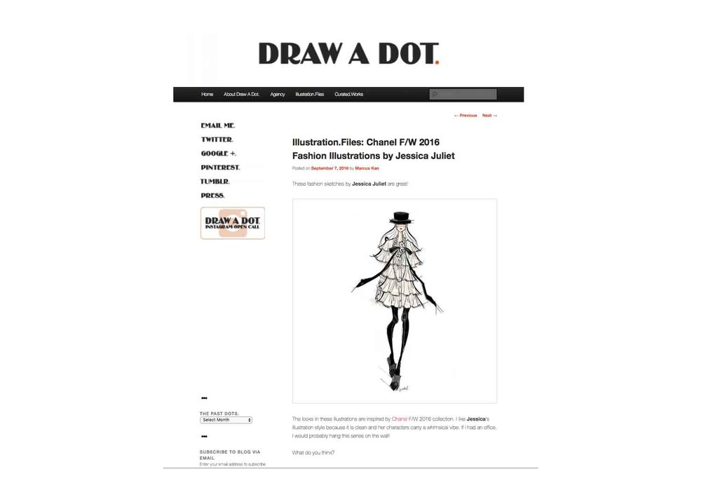 Draw A Dot: Illustration Files
