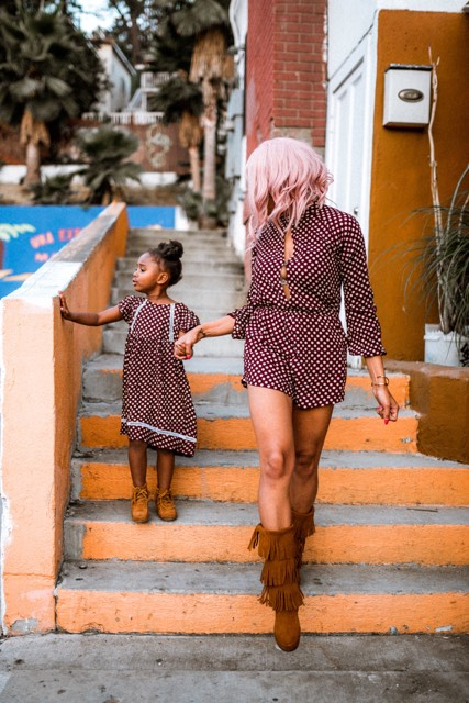 Mommy and Me Fashion with My Main Thang by LA fashion blogger MomCrushMonday