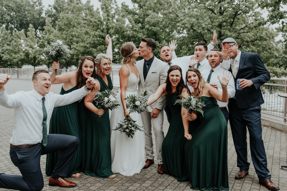Emerald + Copper Rainy Day Romance | Be Images Photography