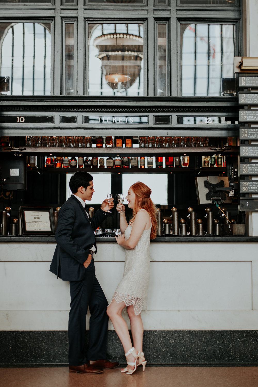 Modern, Union Station Engagement