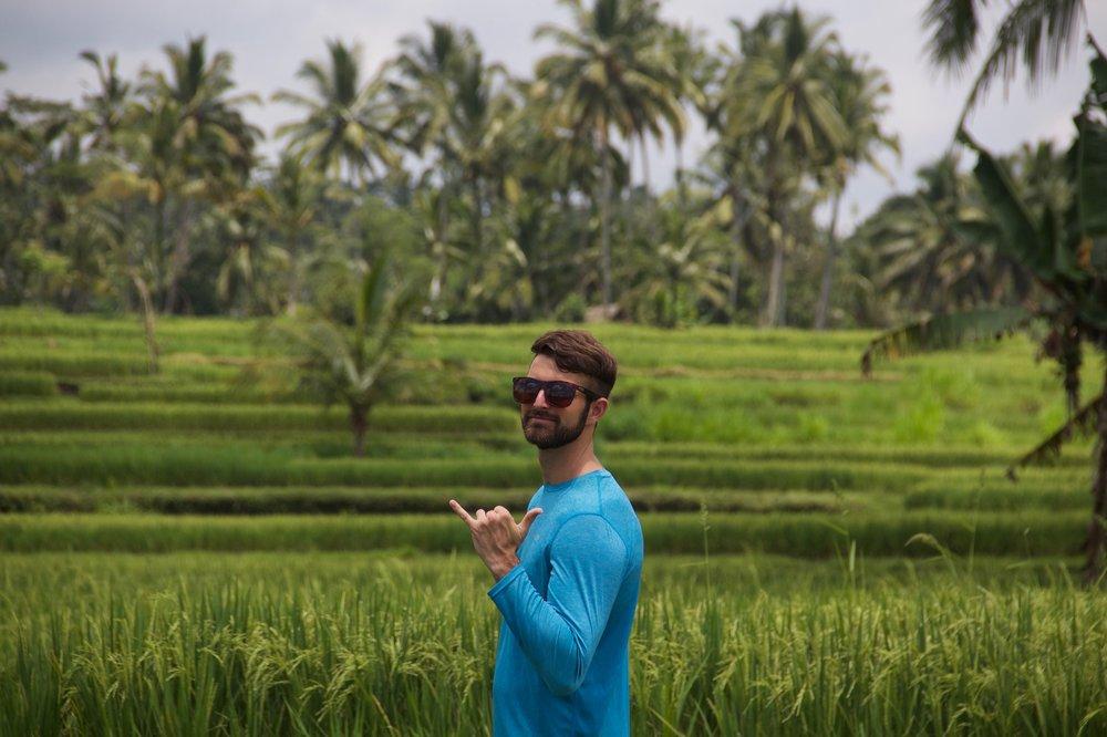 Rice field trek with Authentik Bali