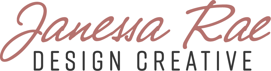 Janessa Rae Design Creative | Strategic Branding + Squarespace Website Designer