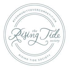 The Rising Tide Society Member Badge