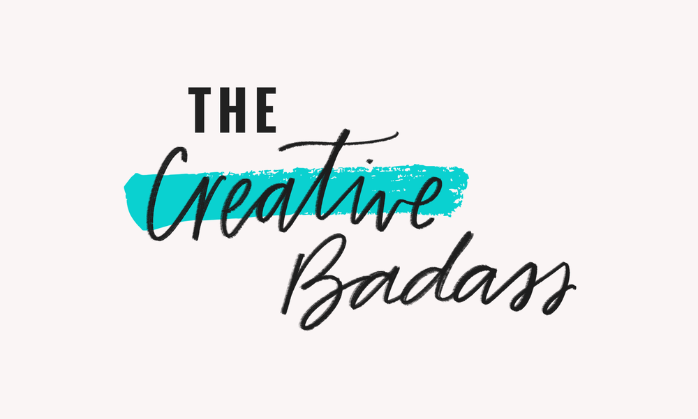 The Creative Badass Logo by Janessa Rae Design Creative