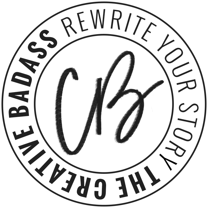 The Creative Badass Logo Stamp by Janessa Rae Design Creative