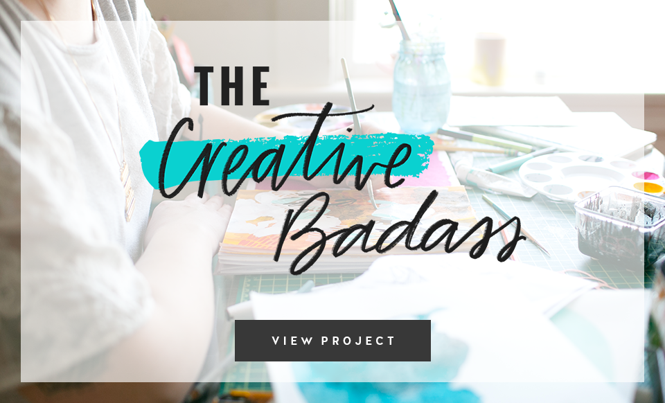 The Creative Badass – Branding & Website Design by Janessa Rae Design Creative