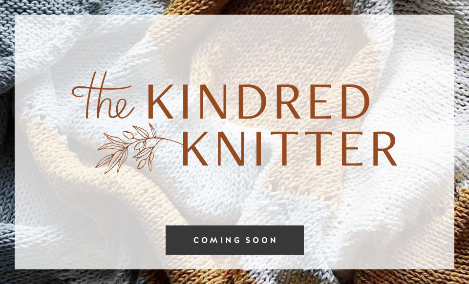 The Kindred Knitter - Design by Janessa Rae Design Creative