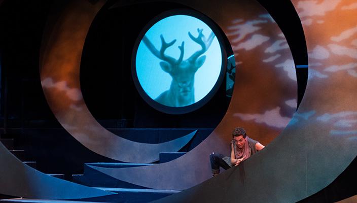Jack Saleeby as PEER. Photo courtesy of Hofstra University