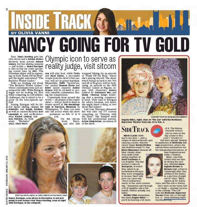 Boston Herald Inside Track Jan 10 LIAR