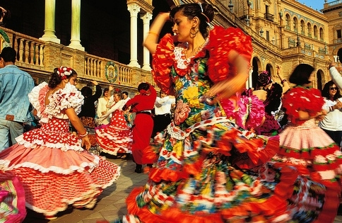 Flamenco Dancers, Seville, Spain.jpg
